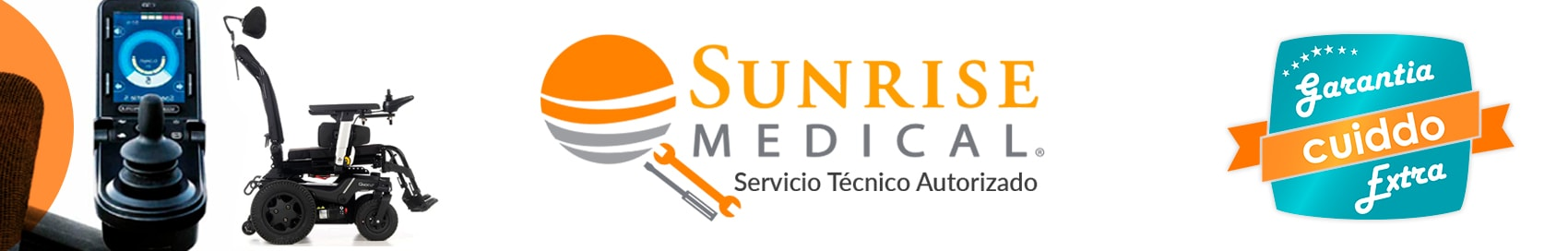 Servicio tecnico autorizado Sunrise Medical