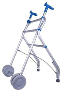 alquiler andador de aluminio