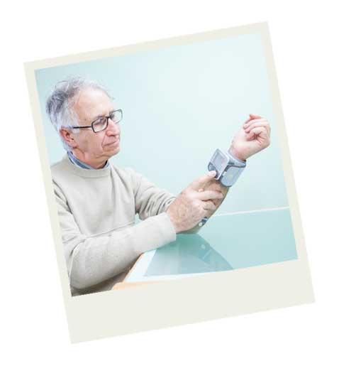 Tensiometro digital de muñeca