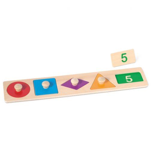 Encajable Geométrico y Números