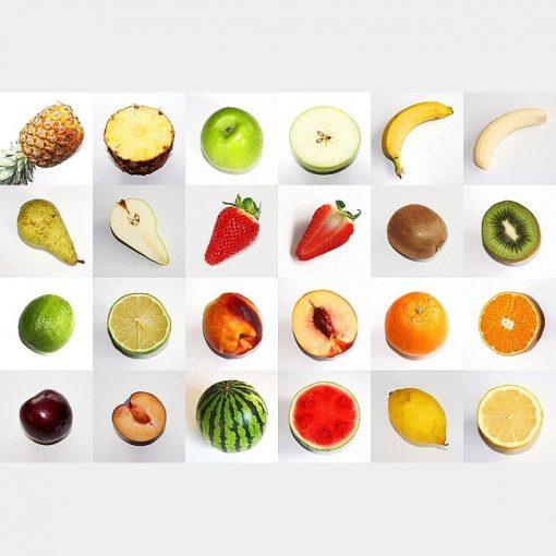 memo frutas partidas