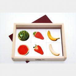 memo frutas partidas lenguaje