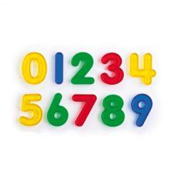 Números de Colores Transparentes