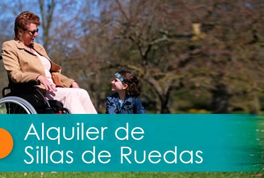 Alquiler Sillas de Ruedas en Madrid
