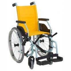 silla de ruedas manual infantil liliput