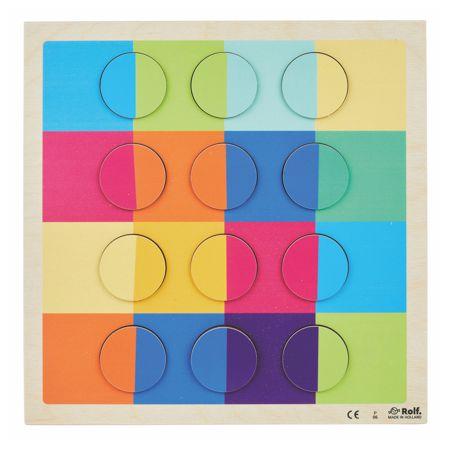 Puzzle Circulos Arcoíris