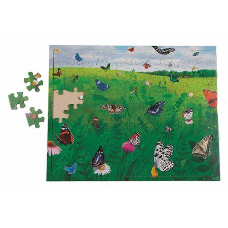 Puzzle Jardín de Mariposas