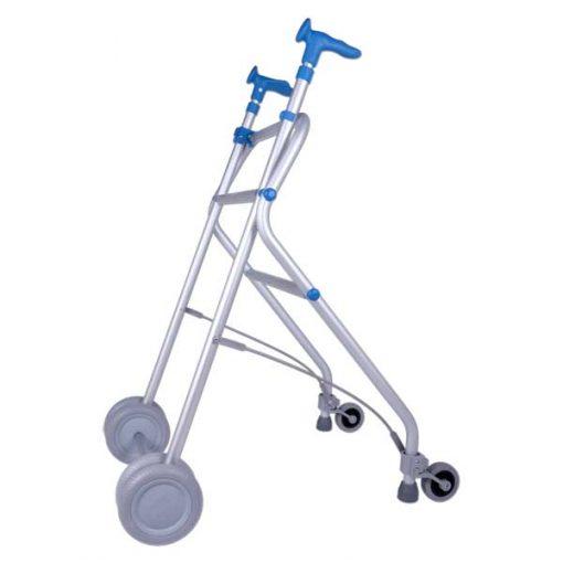 Andador de aluminio Rollatino - Azul