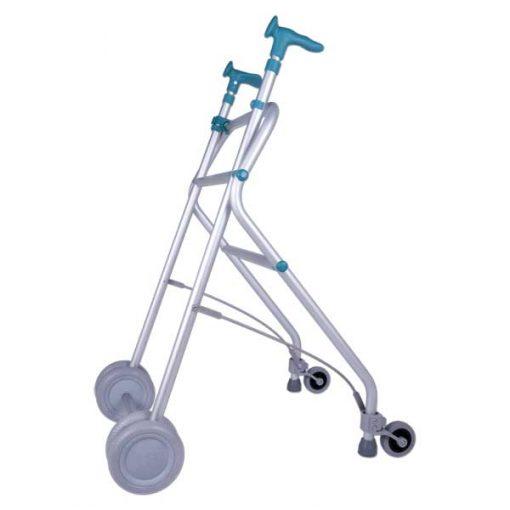 Andador de aluminio Rollatino - Esmeralda