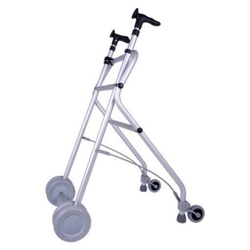 Andador de aluminio Rollatino - Negro