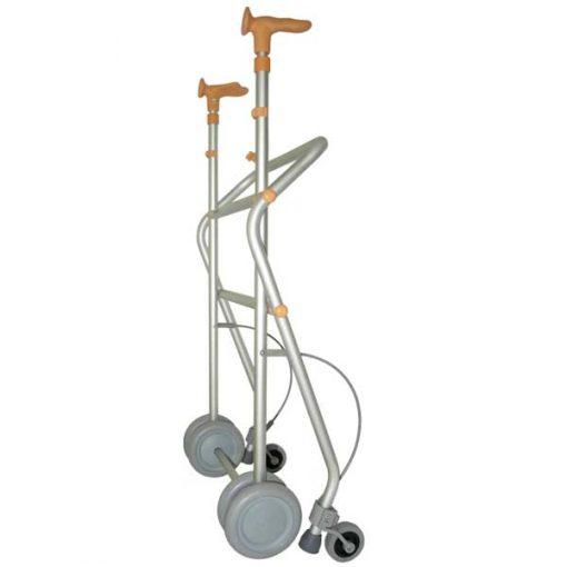 Andador de aluminio Rollatino - Plegado