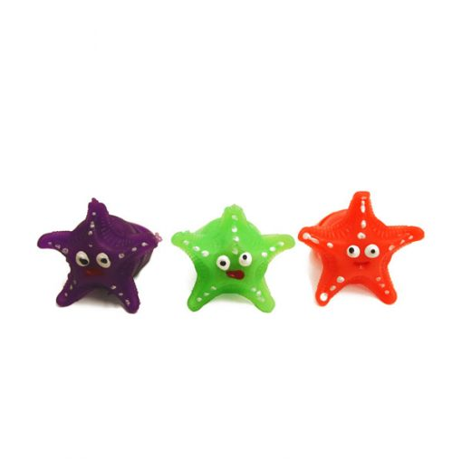 Anillos luminosos estrella - pack 3 unidades