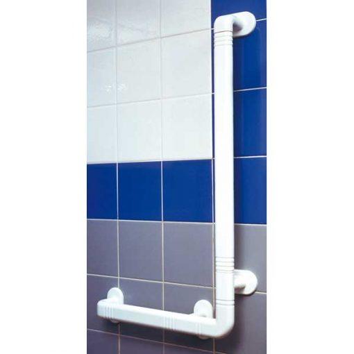 Asidero angular ducha