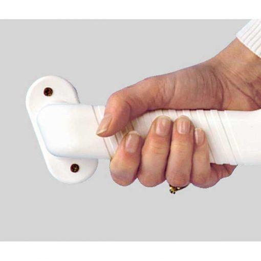 Asidero baño plástico 45cm - enganche