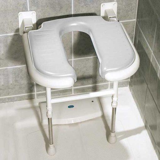 Asiento abatible ducha asiento en u