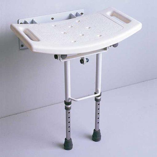 Asiento abatible ducha patas - DUCHA