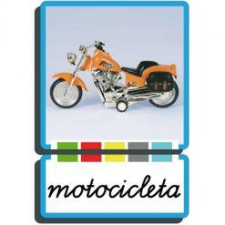 Autodidacto fotográfico motocicleta