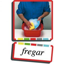 Autodidacto fotos verbos fregar