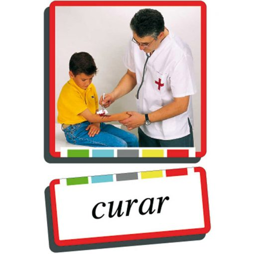 Autodidacto fotos verbos curar