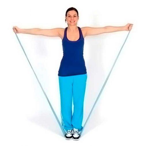 Bandas elásticas ejercicio (Verde)
