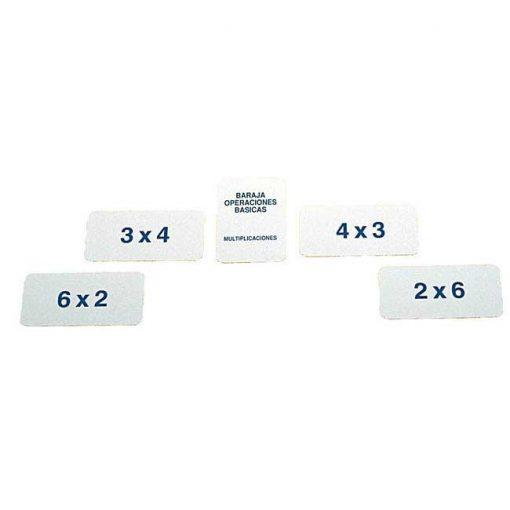 Baraja multiplicaciones calculo