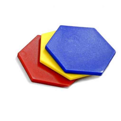 Bloques Lógicos - Diferentes colores y grosores