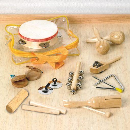 Bolsa de Percusión - Set 10 Piezas