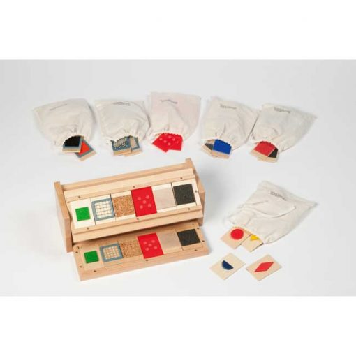Caja reconocimiento táctil - conjunto