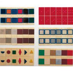 Caja reconocimiento táctil - texturas