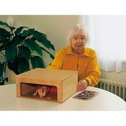 Caja táctil para objetos - juego