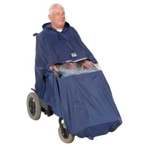 Chubasquero silla eléctrica