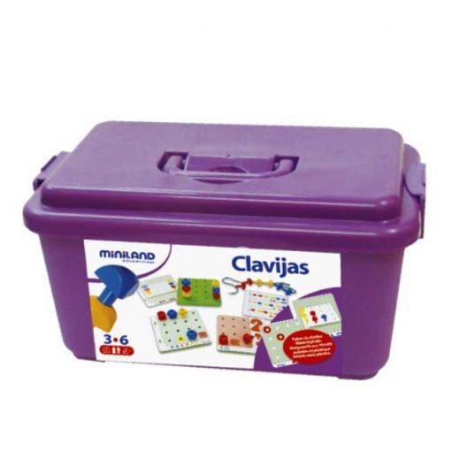 Clavijas (144 piezas) - maletin