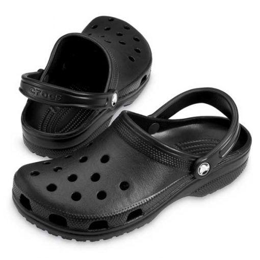 Zuecos Crocs Classic black