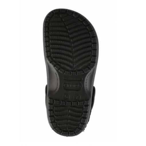 Zuecos Crocs Classic black suela