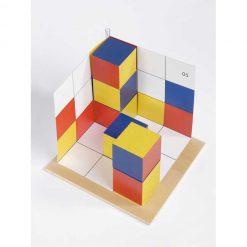 Cubicolor tridimensional orientacion espacial