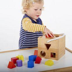 Cubo Encajable Formas