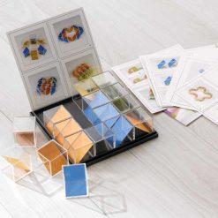 Cubos Perspectivas Tridimensionales