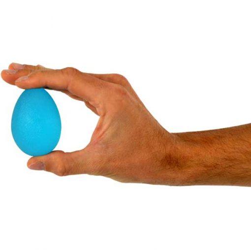 Ejercitador de mano - Squeeze Egg Azul