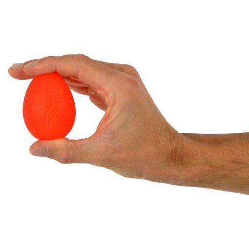 Ejercitador de mano - Squeeze Egg Rojo
