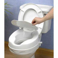 Elevador wc 10cm con tapa - inodoro