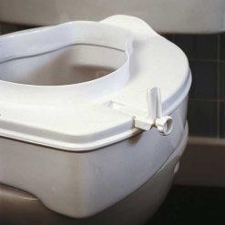 Elevador wc 10cm con tapa - anclajes