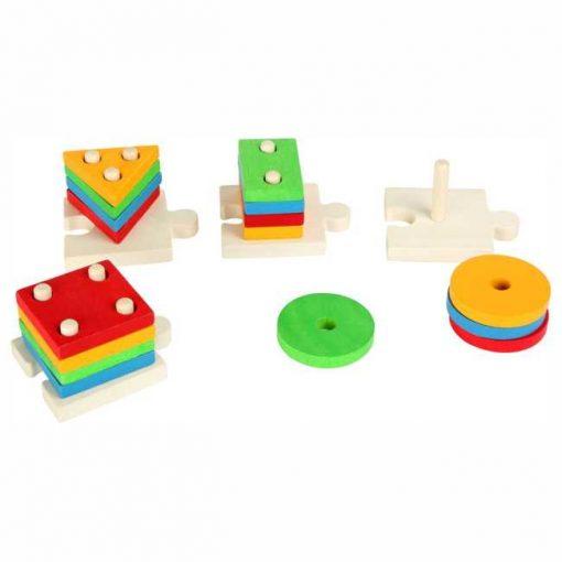 Encajable Formas Puzzle