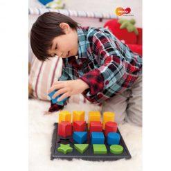 Encaje formas, colores y texturas - juego