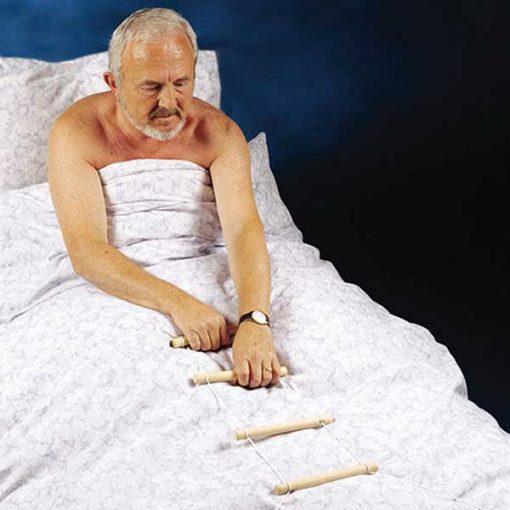 Escalerilla para incorporarse de la cama