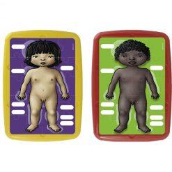 2 Puzzles del esquema corporal - puzzles