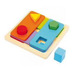Juego de formas y colores - encajable