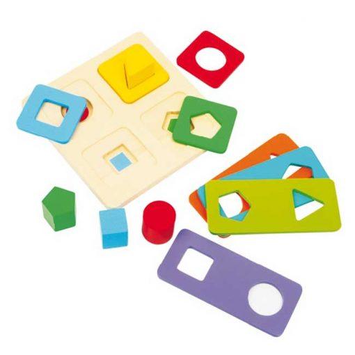 Juego de formas y colores - conjunto