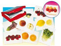 Fotos de alimentos tarjetas
