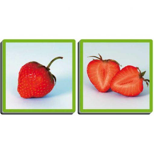 Las frutas y sus aromas - fresa