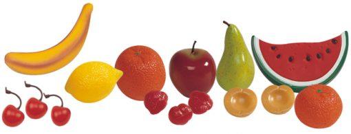 Frutas - piezas